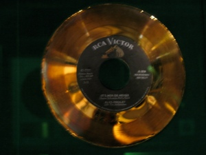 It's Now Or Never gold record on display at Graceland